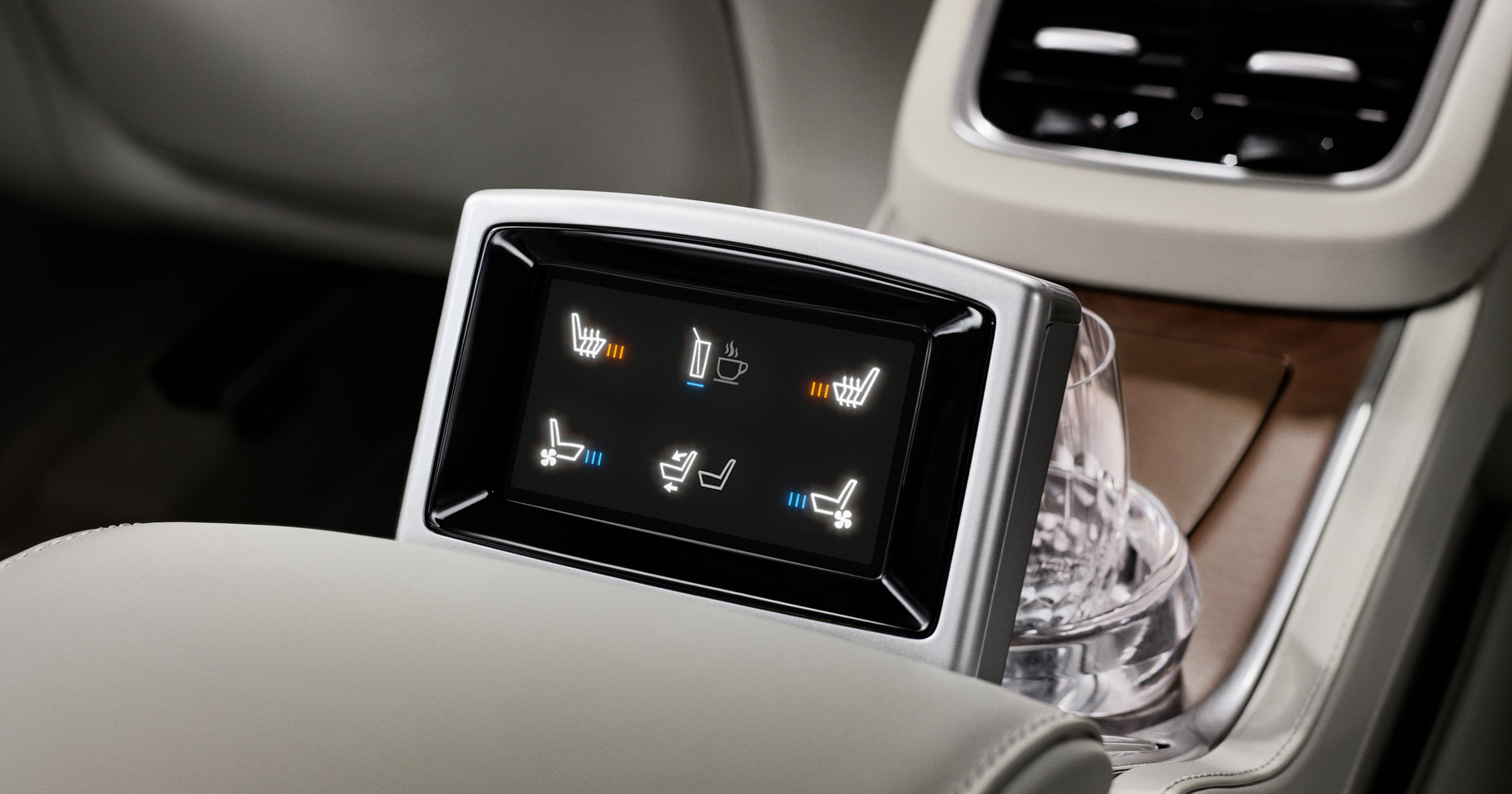Volvo XC90 display