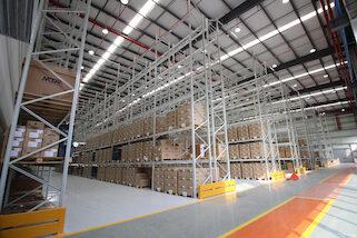 MTA China warehouse