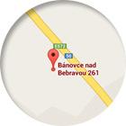 MTA Slovakia - Mappa
