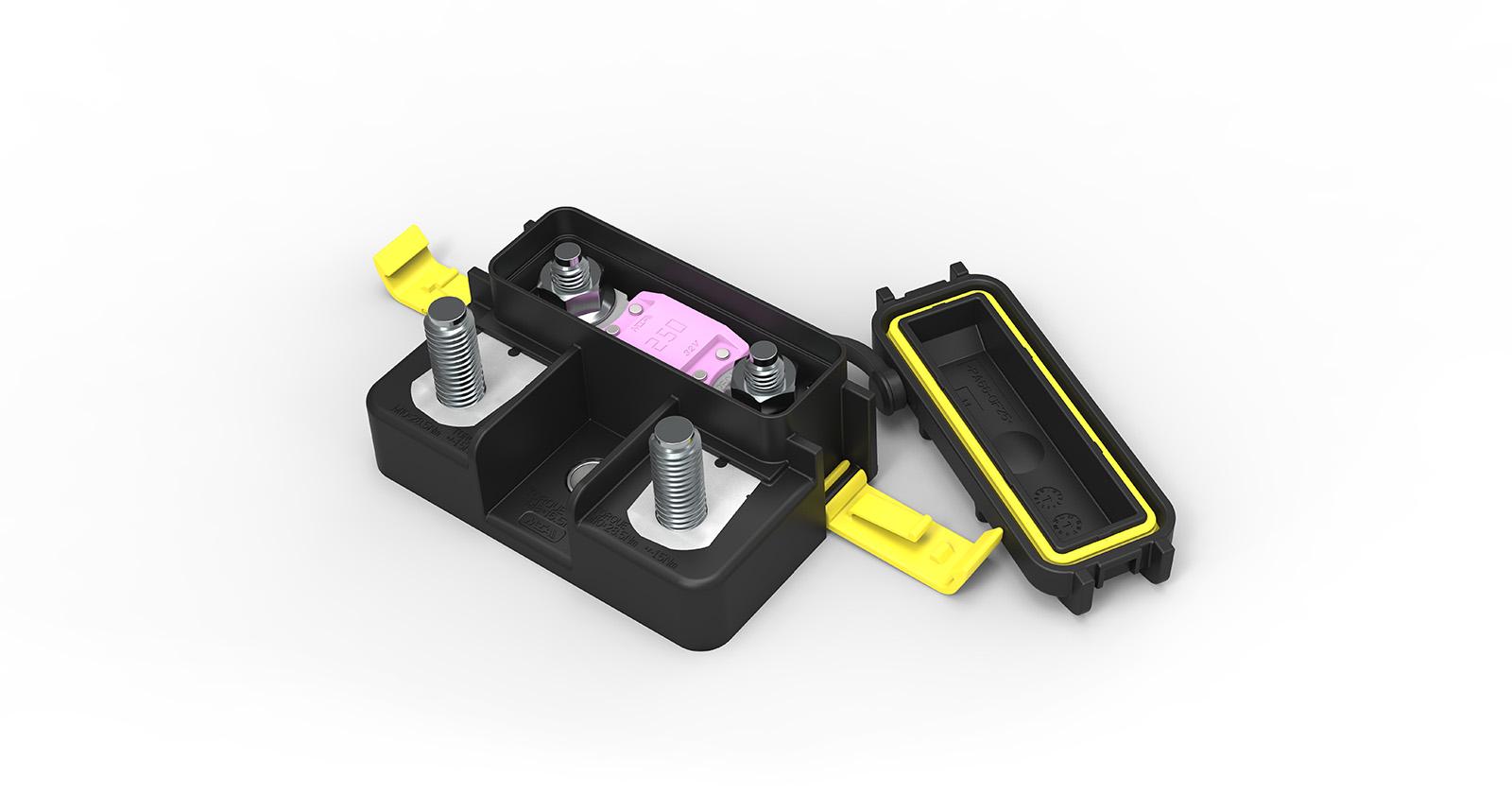 Waterproof 1-way MegaVal holder